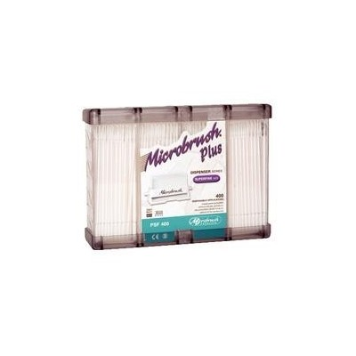 Microbrush Plus Dispenser Series Applicators – Superfine Tips (1 mm), 400/Pkg