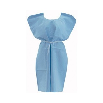 Gown Isolation Blue (10)