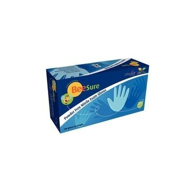 Glove Large Beesure Nitrile Pf