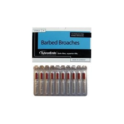 Broaches X-Fine Red Sybron