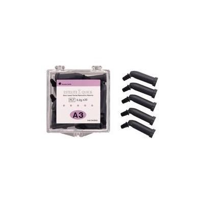 Estelite Sigma Quick Resin-Based Restorative Material - 0.2 g PLT Refills, 20/Pkg