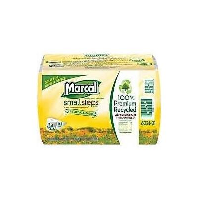 Marcal Pro 100% Premium Recycled Bath Tissue, 48 Rolls
