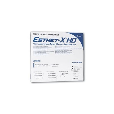 Esthet•X HD – Compules Tips, Operatory Kit