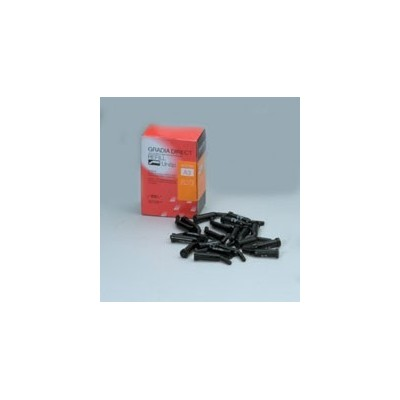 Gradia Direct Resin Composite - Unitip, 20/Pkg