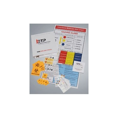 Wall Chart Hazardous Materials