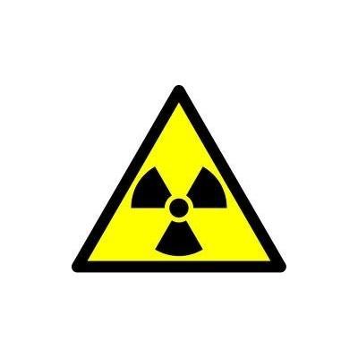 Label Radiation Warning (5)