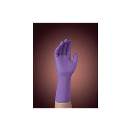 Glove Small Purple Nitrile Pf