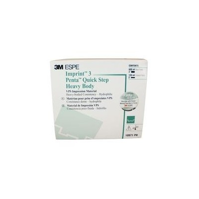 Imprint 3 Penta Quick Step VPS Impression Material – Heavy Body Refill with Base and Catalyst