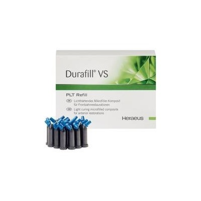 Durafill VS Light Cure Composite - 0.25 g, PLT Refills, 20/Pkg