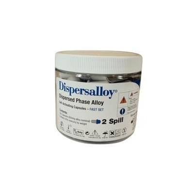 Dispersalloy Dispersed Phase Alloy - Self-Activating Capsules, 2 Spill 600 mg, 50/Pkg