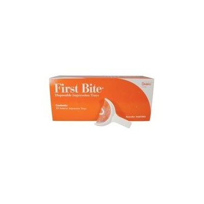 First Bite Disposable Double Arch Impression Trays