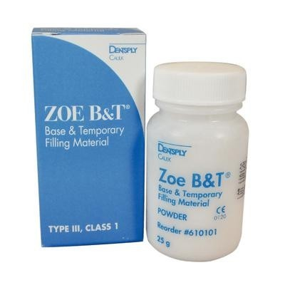 ZOE B&T Base and Temporary Filling Material – Powder Refill, 25 g
