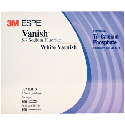 Vanish White Varnish with Tri-Calcium Phosphate (TCP) - 3M