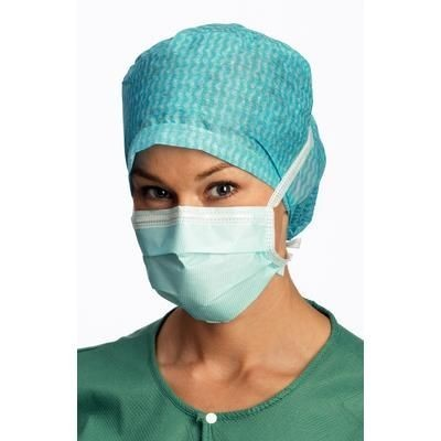 Face Mask Surgine II Tie-On Blue (60/bx)