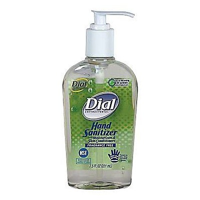Dial Hand Sanitizer 7.5 Oz (Pump)