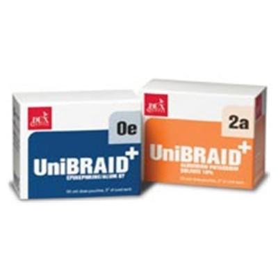 Unibraid w/ Epinephrine Aluminum 87 1E No.1 Small 50 Bx