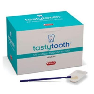 TastyTooth Varnish Flouride 5% NaF Melon (100/Bx)