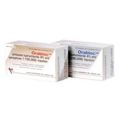 Orabloc Articane HCI 4% Epinephrine 1:200,000
