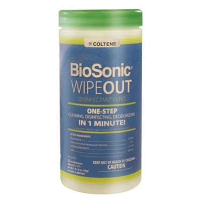 Biosonic Wipe-Out Disinfectant Wipes Large (160/Cn)