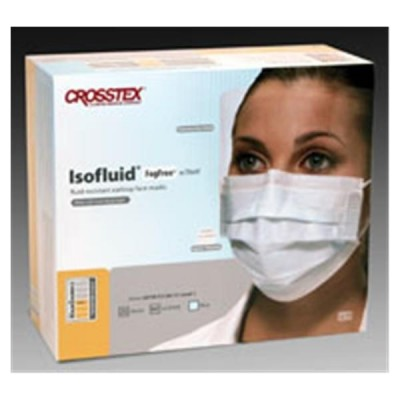 Isofluid FogFree Earloop Face Masks with Shield, 25/Box