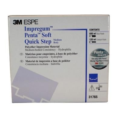Impregum Penta Soft Quick Step Polyether Impression Material Refill, Mint Flavor