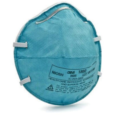 Face Mask N95 Particulate Respirator Level 3 20/Bx