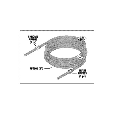 Cavitron Water Line & Nut Assembly 8ft